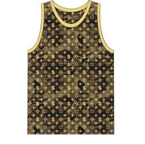 14caf0215 Victorious Shirts | Gold Camo Print Mens Designer Tank Top | Poshmark